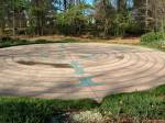 The labyrinth at Millbrook Baptist Church, Raleigh, NC