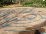 Millbrook Baptist Church labyrinth - center